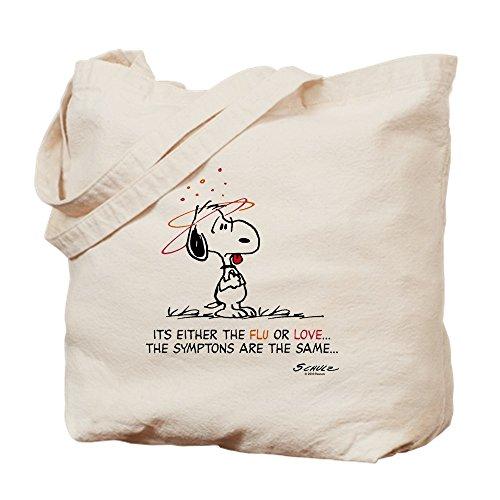 CafePress Tote Bag - Peanuts Snoopy Lovesick Tote Bag by CafePress