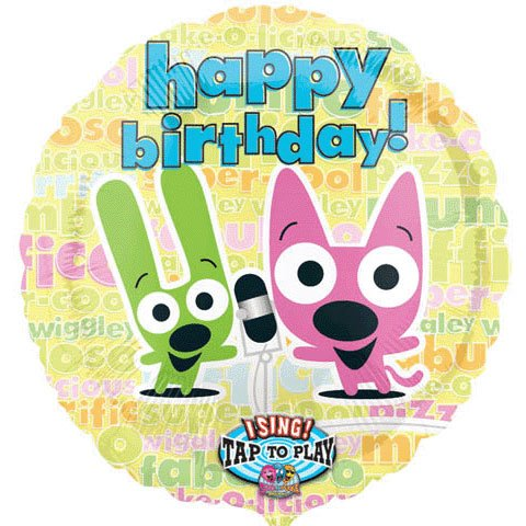 Mayflower Hoops And Yoyo Singing Happy Birthday 28 Mylar Balloon Party Games Crafts