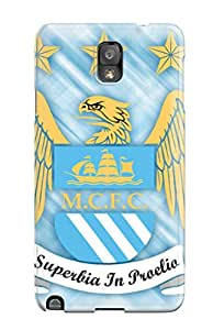 Snap On Case Cover Skin For Galaxy Note 3(manchester City Logo) 2458141K43320220