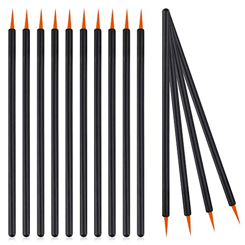 Eyeliner Brush Disposable Eyeliner Wands Lip Liner Brushes Applicator Beauty Makeup Tools 100 Pieces