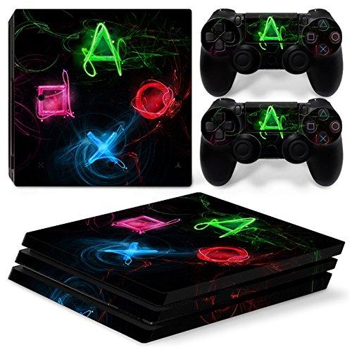 Cheap CSBC Skins Sony PS4 Pro Design Foils Faceplate Set – PSButtons 3 Design