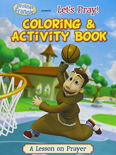 Brother Francis - Let's Pray Coloring & Activity Book -