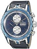 Edox Men's 01121 357B BUIN Grand Ocean Analog Display Swiss Automatic Blue Watch