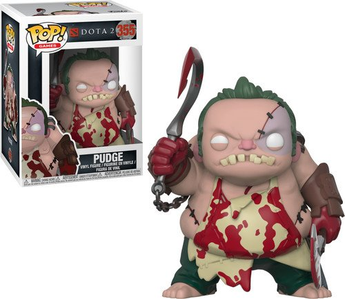 Funko Pop Games: Dota 2-Pudge with Cleaver Collectible Figure, Multicolor