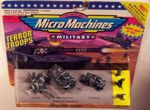 (Micro Machines Pillage Patrol #3 Military Collection)