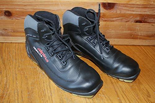 Alpina NNN104 Black Cross Country ski boots ankle control TR Slovenia EU 40