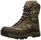 Danner Men's High Ground 8'' Hunting Shoes, Mossy Oak Break up Country, 8.5 2E US
