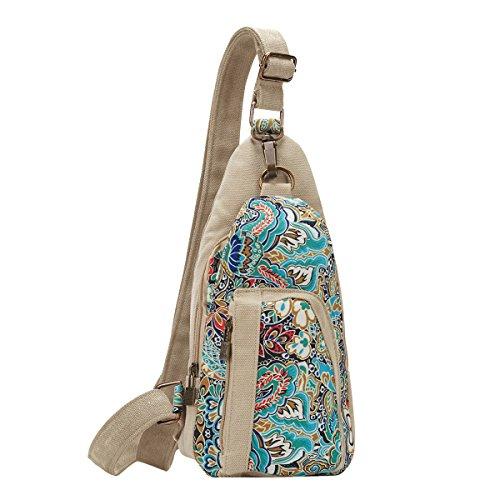 Black Butterfly Outdoor Shoulder Chest Pack Crossbody Bag for Women GirlsTravel Daypack,L