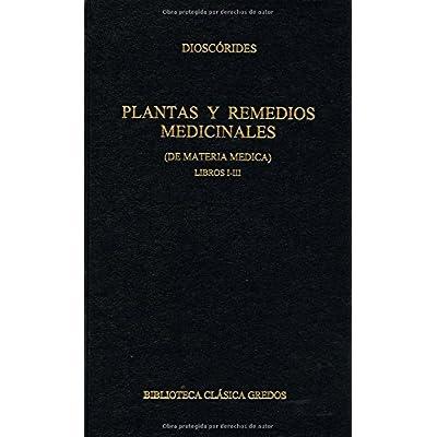 Plantas y remedios medicinales i-iii (B. CLÁSICA GREDOS)