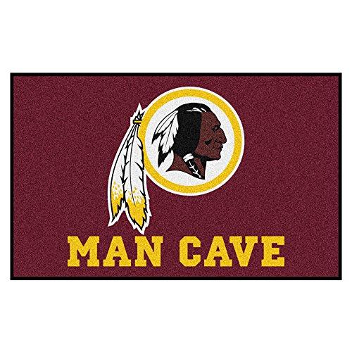FANMATS 14387 NFL Washington Redskins Nylon Universal Man Cave UltiMat ()