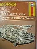 img - for Morris Marina: 1971 Thru 1975, 110 Cuin (1789cc), Sedan & GT Coupe & 1.8 TC Owners Workshop Manual book / textbook / text book