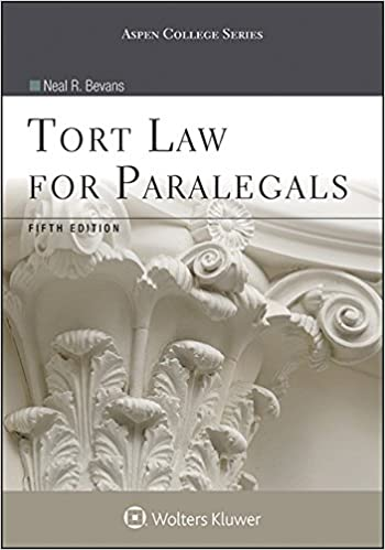 Tort law for paralegals aspen college series kindle edition by tort law for paralegals aspen college series 5th edition kindle edition fandeluxe Image collections
