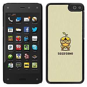 LECELL--Funda protectora / Cubierta / Piel For Amazon Fire Phone -- sumo de semillas --