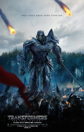 Transformers The Last Knight Us Movie Wall Poster Print 30cm X