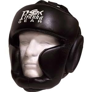 xObsolete Head guard w/ chin & cheek padding