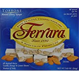 Torrone Nougat Candy, 18 Assorted Pieces (Ferrara) NET WT 7.62 216g