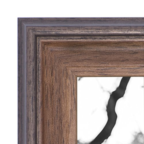 8x10 Picture Frame Brown - Mount Desktop Display, Frames by EcoHome (Western Picture Frames 8x10)