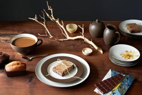 Noritake 4-Piece Colorwave Place Setting, Chocolate