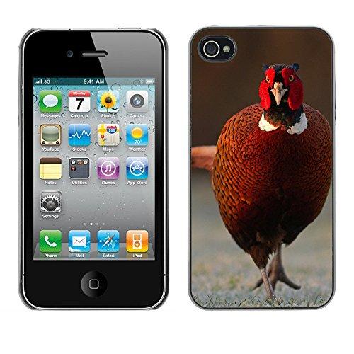 Premio Sottile Slim Cassa Custodia Case Cover Shell // F00005909 Russell Savory // Apple iPhone 4 4S 4G
