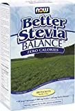 Now Stevia Balance With Inulin & Chromium Packets Powder, 100g