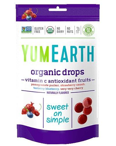 YumEarth Organic Vitamin C Pops 8.5 oz (241 g) Pkg