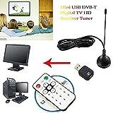 Antenna Receiver Wireless Mini Digital TV Stick DVB-T With Remote Control