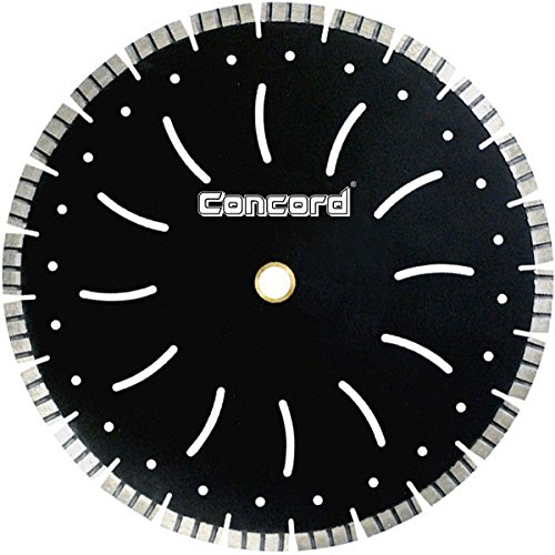Concord Blades LFB140C12HP 14 Inch Laser Turbo Segmented Diamond Blade with Cooling Holes (Turbo Laser)