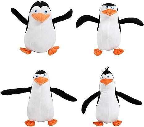 4Pcs//Set The Penguins of Madagascar Plush Stuffed Toys Dolls Gift New