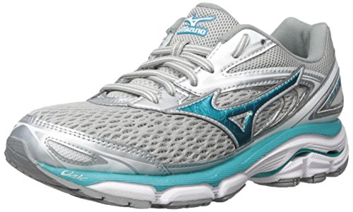 Silver Mizuno Inspire Wave Running 13 Blue Griffin 2A Shoes Women's Tile 6fO60B