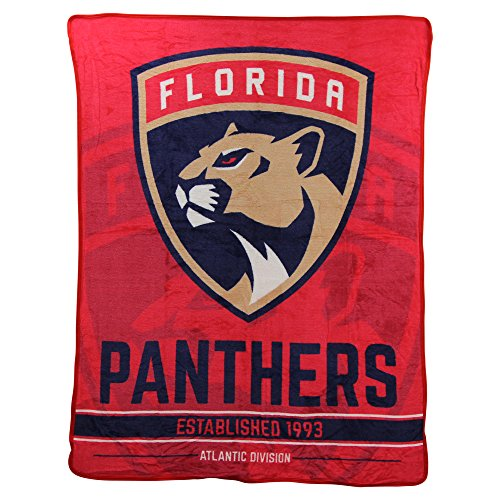 The Northwest Company NHL Breakaway Super Soft Plush Throw Blanket (Florida Panthers)