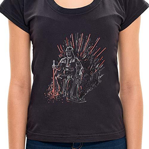 Camiseta Jedi Of Thrones - Feminino 7H42 - Camiseta Jedi Of Thrones - Feminina - G