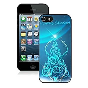Individualization Iphone 5S Protective Cover Case Christmas Tree iPhone 5 5S TPU Case 27 Black