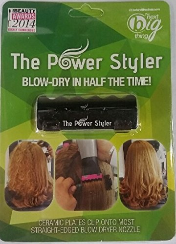 The Power Styler - Blow Hair Dryer Attachment (Black)