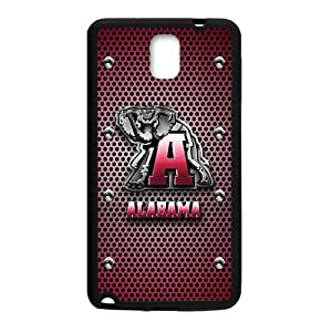 Generic Custom Unique Design NCAA University of Alabama Crimson Tide Team Logo Plastic and TPU Case Cover for SamsungGalaxy Note3