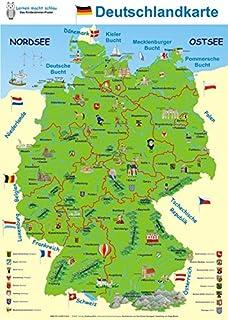 Felix Deutschlandkarte Amazon De Constanza Droop Ba Cher