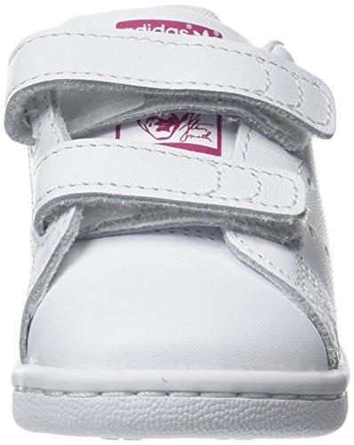 bold Bianco Smith Stan footwear Bimbi I Unisex White 24 Adidas 0 0 Sneaker Cf Pink Uxw5nz7