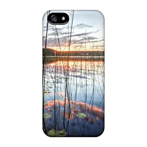 Flexible PC Back For Iphone 6 Phone Case Cover - Sunrise On The Lake