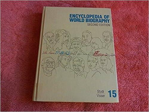 Encyclopedia of world biography.
