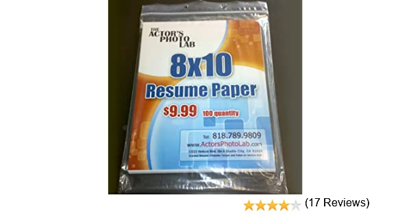 Amazon.com : 8x10 Resume Paper 100 Sheets : Multipurpose Paper : Office  Products  8x10 Resume Paper