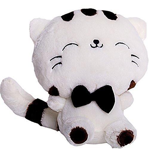 Marsjoy Stuffed Cats Plush Toys 11.7 Inches White Baby Doll
