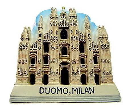 Italia Duomo Milan de enseres de mundo con imán para la nevera ...