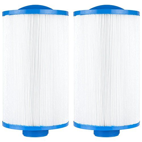 - Clear Choice CCP107 Pool Spa Replacement Cartridge Filter for Vita Spa, Saratoga Spa, Pageant Spa 19 Filter Media, 4-5/8