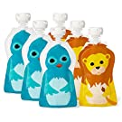 Squooshi Reusable Food Pouch - 2.5 oz - 6 ct