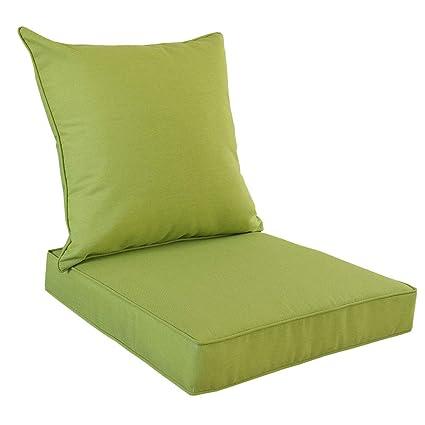Amazon Com Rattaner Deep Seat Chair Cushions Set Indoor Outdoor