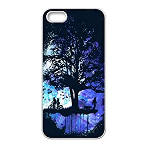 iPhone 4 4s Cell Phone Case White Cosmic Tree of Life Premium Cell Phone Cases EOX