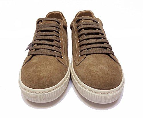 FRAU - Zapatos de cordones de ante para hombre Sughero 40