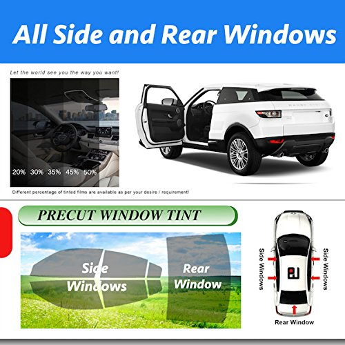 Precut Nissan Versa All Side and Rear Windows Tint Model 2013 ()