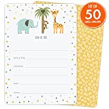 Safari Invitations for Baby Showers, Birthdays, Jungle Parties, or Any ...