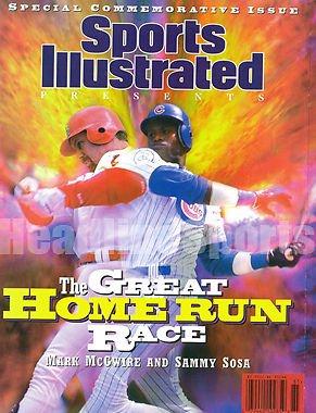 1998 Mark McGwire & Sammy Sosa Cardinals Cubs Commemorative Sports Illustrated
