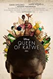 QUEEN OF KATWE Original Movie Poster 27x40 - Dbl-Sided - LUPITA NYONG'O - DAVID OYELOWO